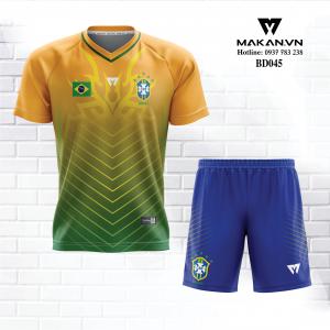 Áo Đội Tuyển Brasil BD045